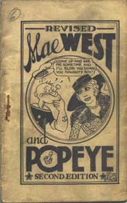 mae west and popeye