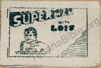 superman with Lois, a rare tijuana bable